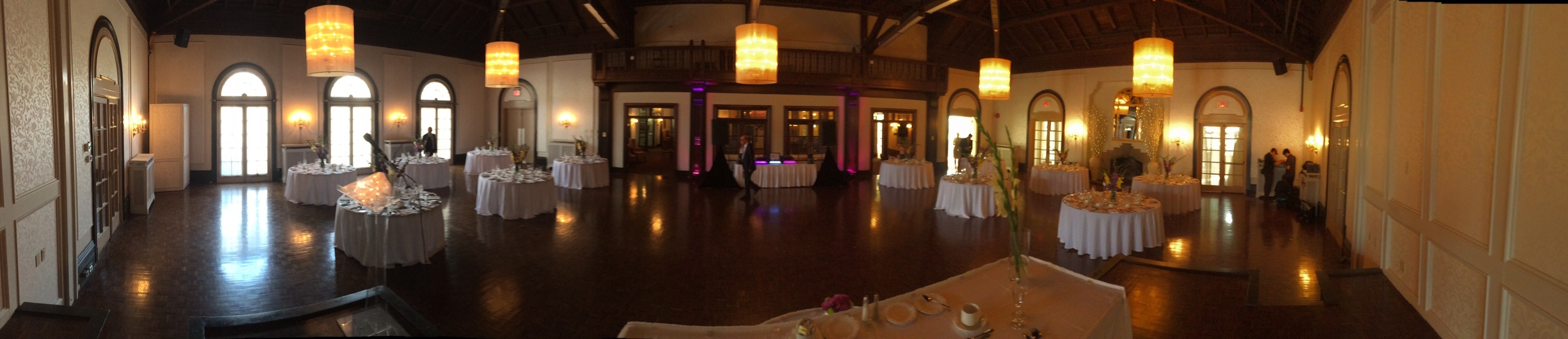 the boulevard club panoramic del vinyl wedding.JPG