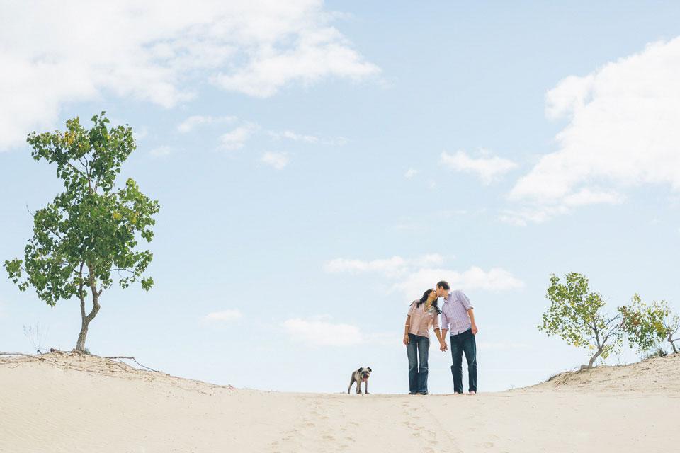 Sandbanks Prince Edward County Engagement Photos.jpg