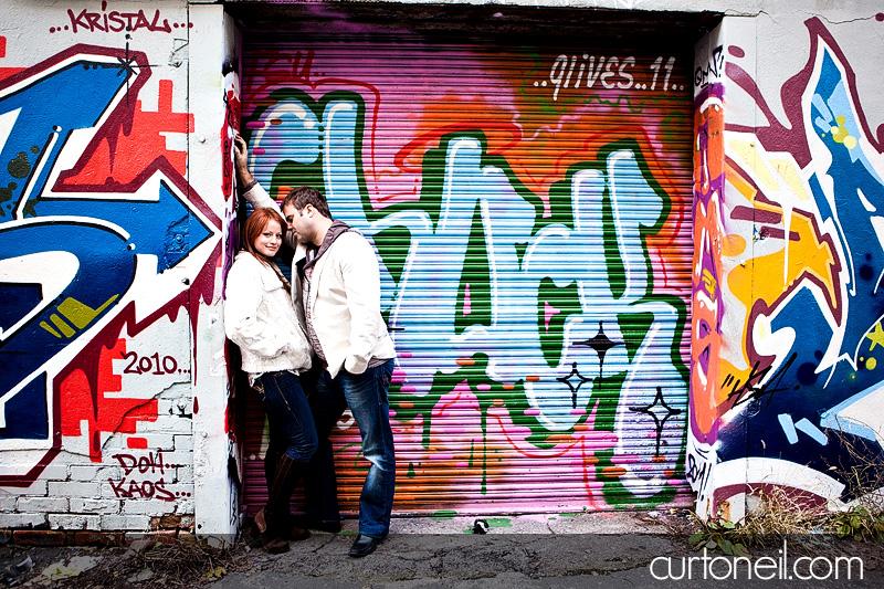 Graffiti alley engagement photo location toronto.jpg