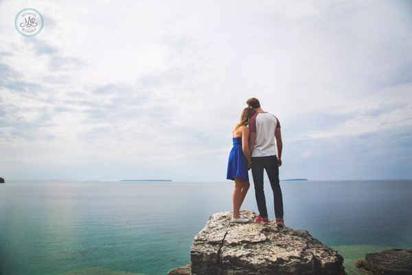 The Grotto, Tobermory engagement photo locations best del vinyl.jpg