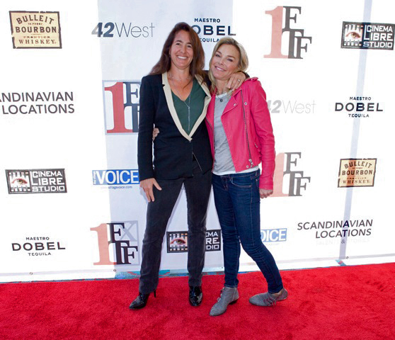 Director Serene Meshel-Dillman with PR Coordinator Natalie Fair