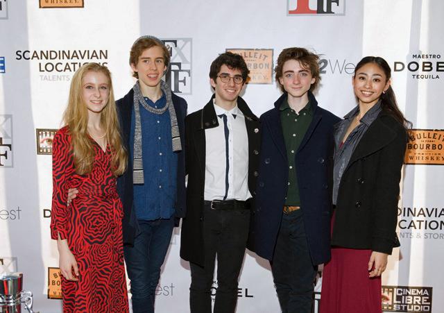 Featured dancers Matisse Love,Eli Gruska,Adam Bernstein,Mikhael Kinley-Safronoff,Elizabeth Del Rosario