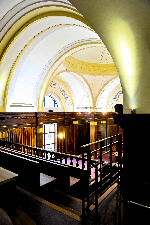 Stoke Newington Town Hall Council Chamber balcony