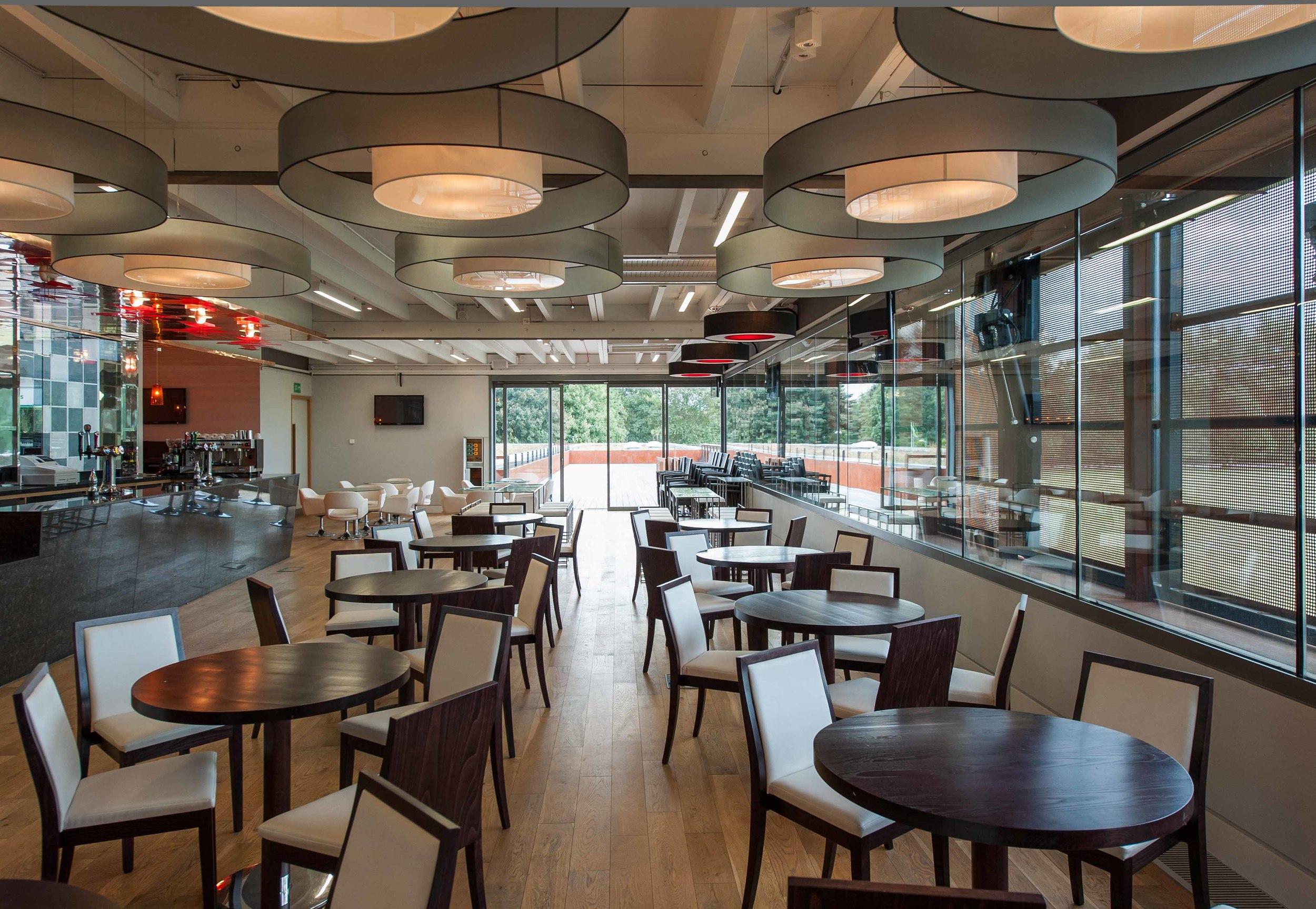 Main bar at Hackney Marshes Centre