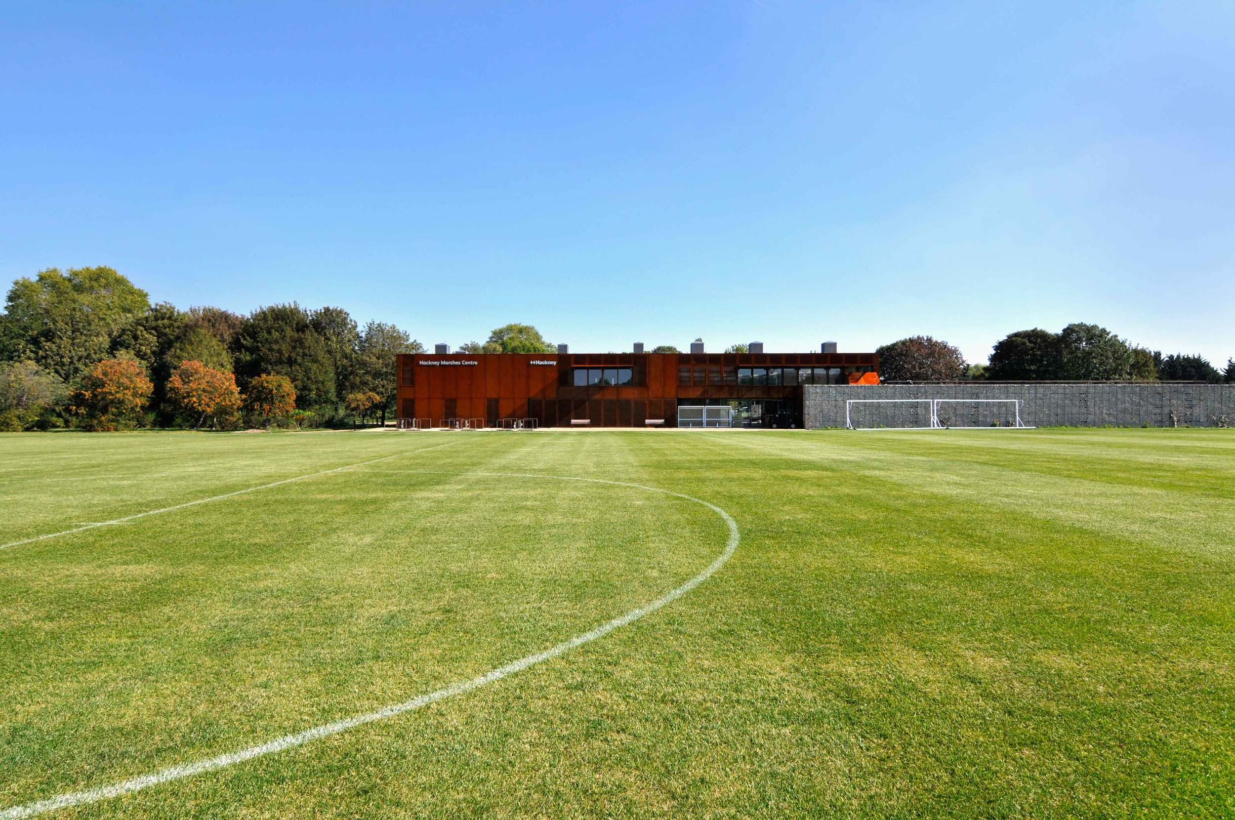 Hackney Marshes Pitch