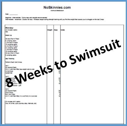 8 Weeks to Swimsuit: Week 3