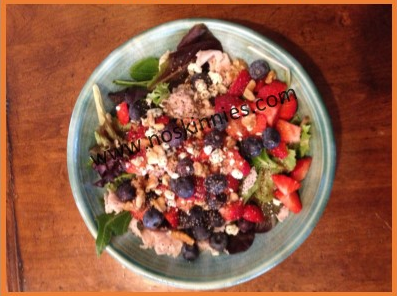 Turkey & Berry Salad Recipe