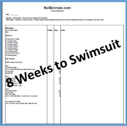 8 Weeks to Swimsuit: Week 5
