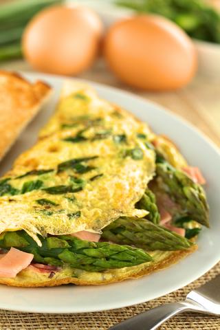 Asparagus Egg Omelet
