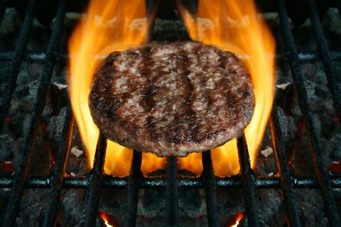 Grilled Lean Eakes Burgers