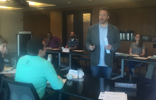 Junto Alumnus & Instructor, Dave Dyson, leading the Class on Leadership & Self-Management