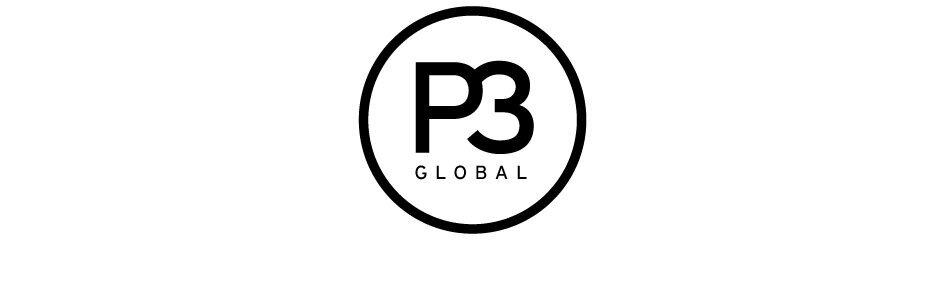 P3 Logo black