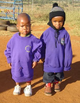Students at the VhutshiloSchool