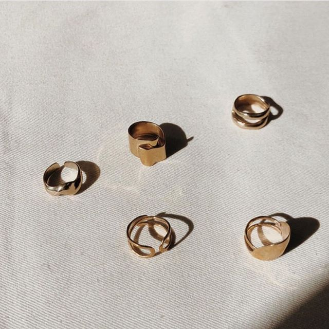 rings 💝 (Repost @shopmorningtide )