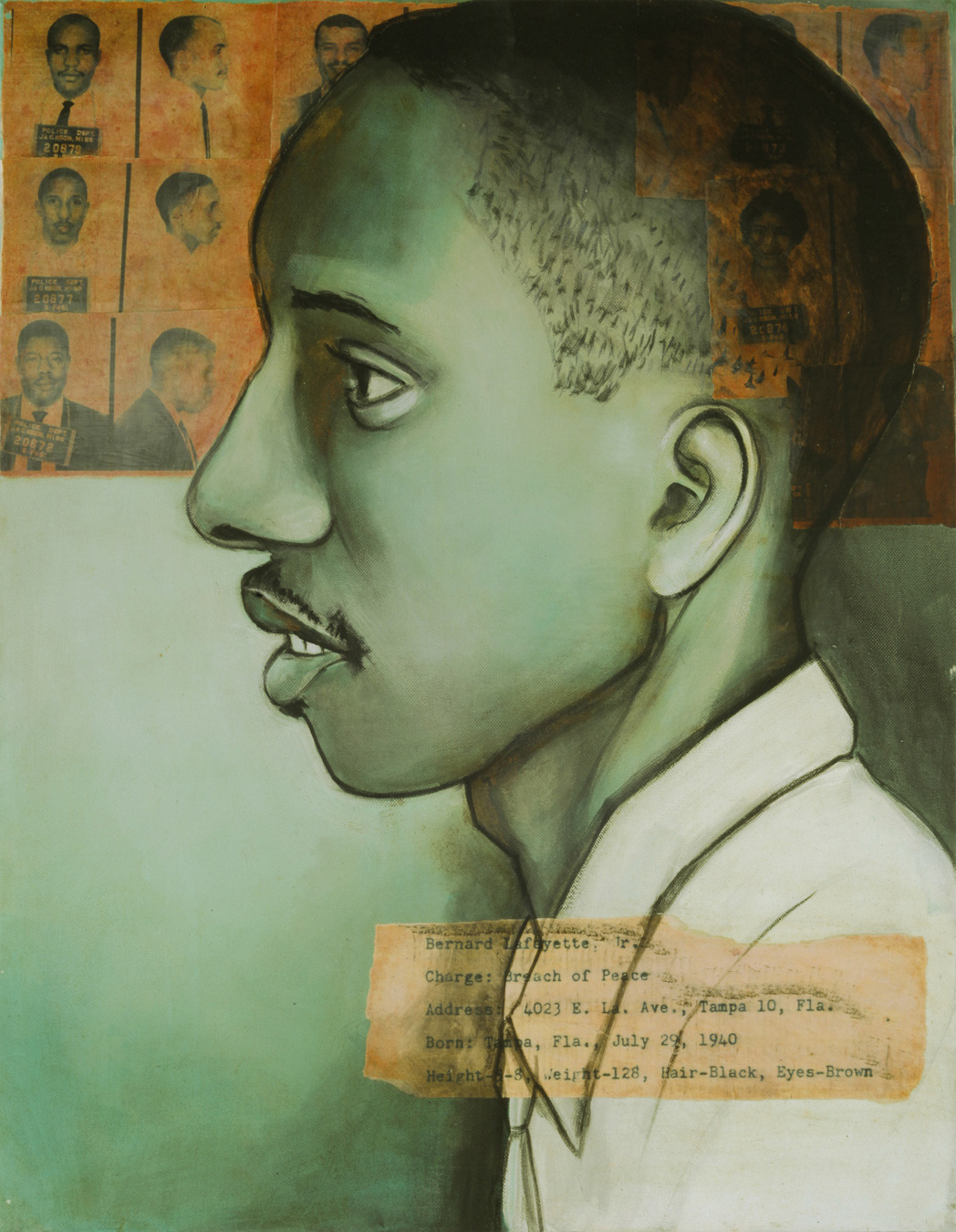 Arrested May 24, 1961 in Jackson, MS: Bernard Lafayette Jr