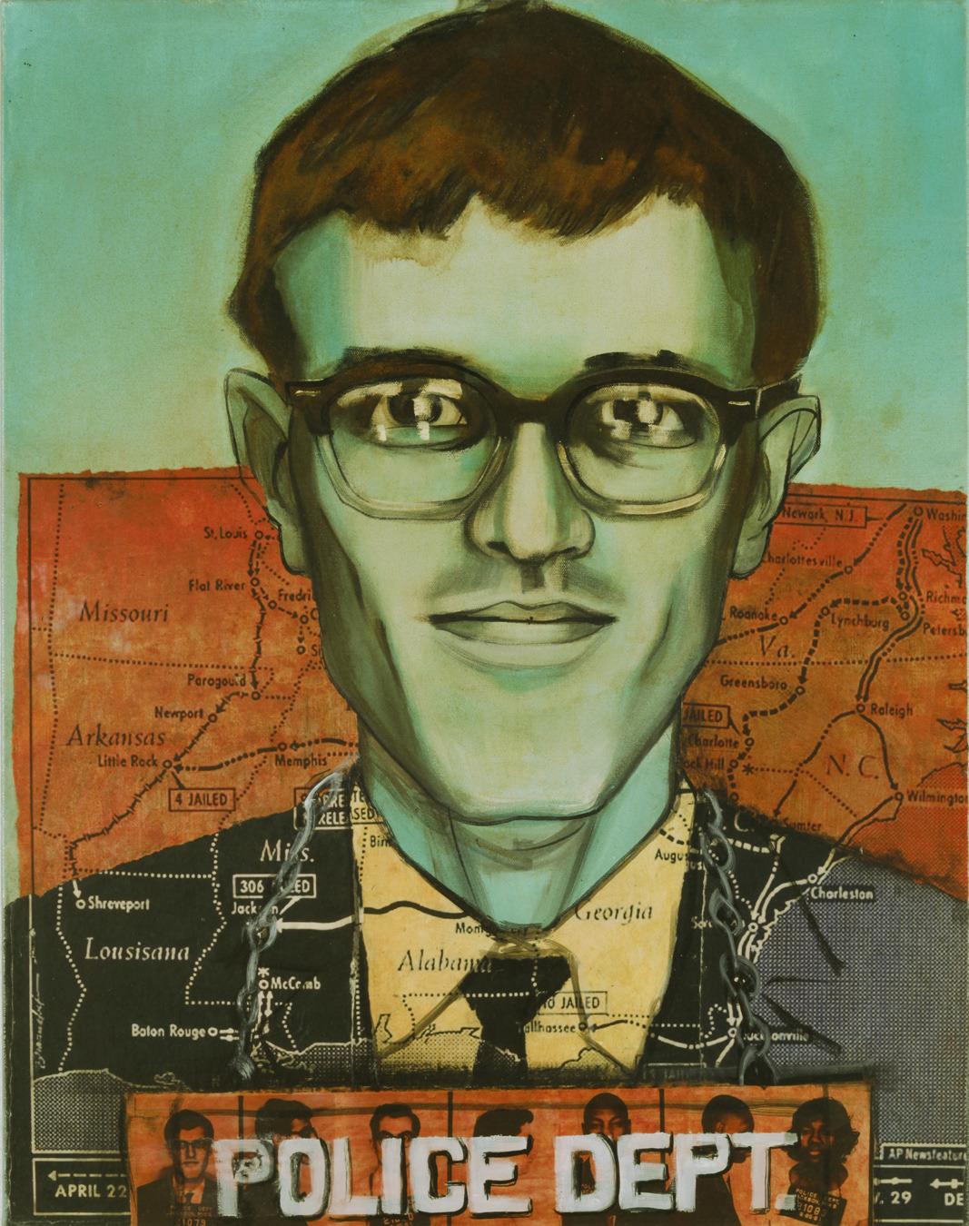 Arrested June 25, 1961 in Jackson, MS: Frank Nelson, 22