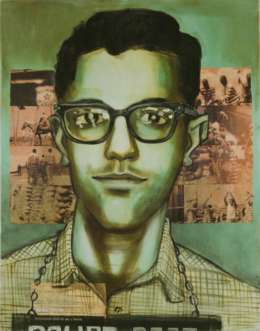 Arrested July 16, 1961 in Jackson, MS: Lewis Zuchman, 19