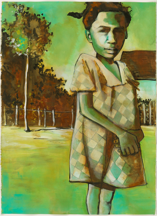 Girl and a Tree, 2008
