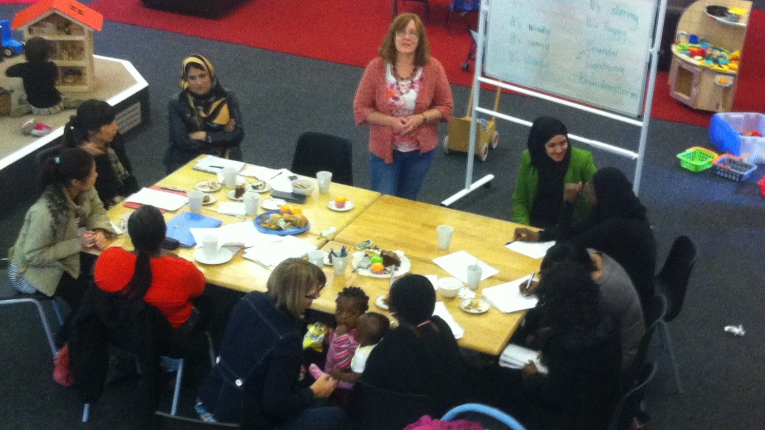 English Fridays - ESOL English Classes 1:30 - 3pm on Fridays during term time