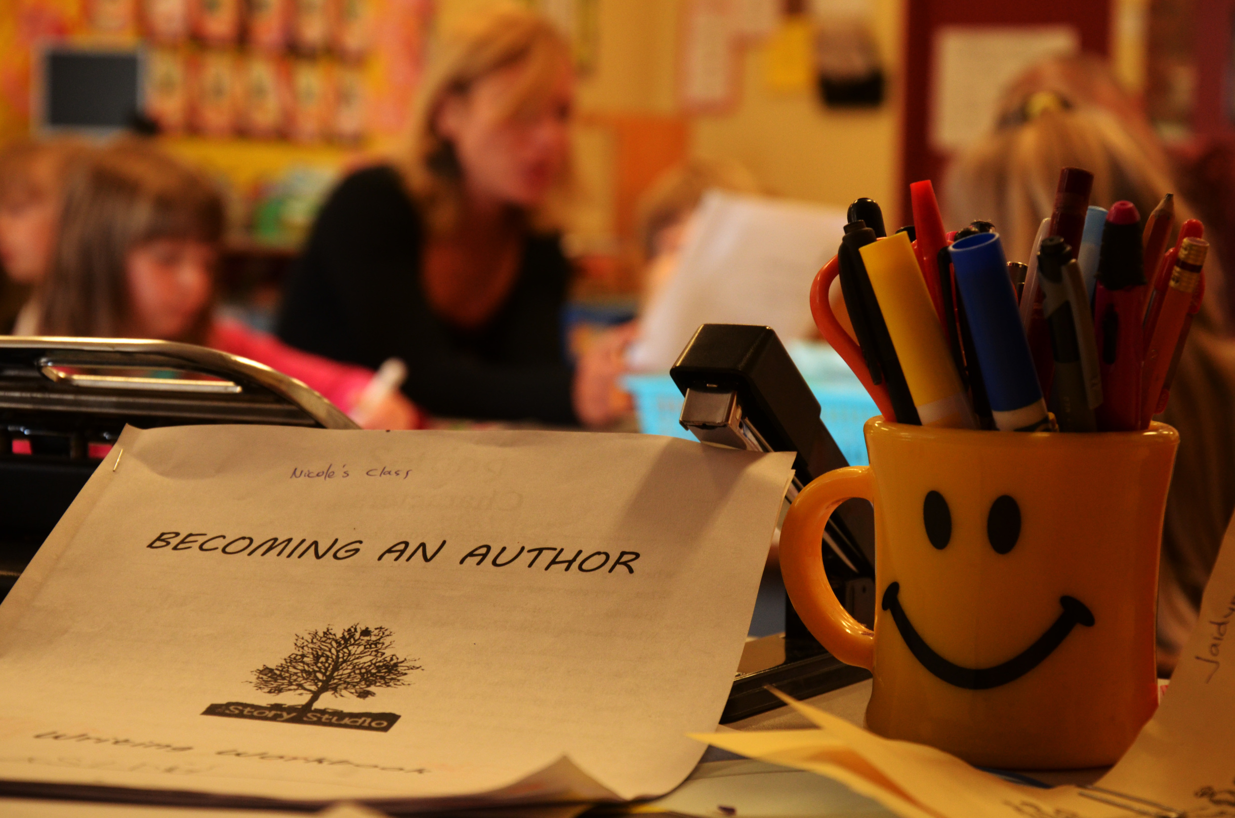 Becoming an Author - FriesenPress joins Story Studio to inspire young authors.