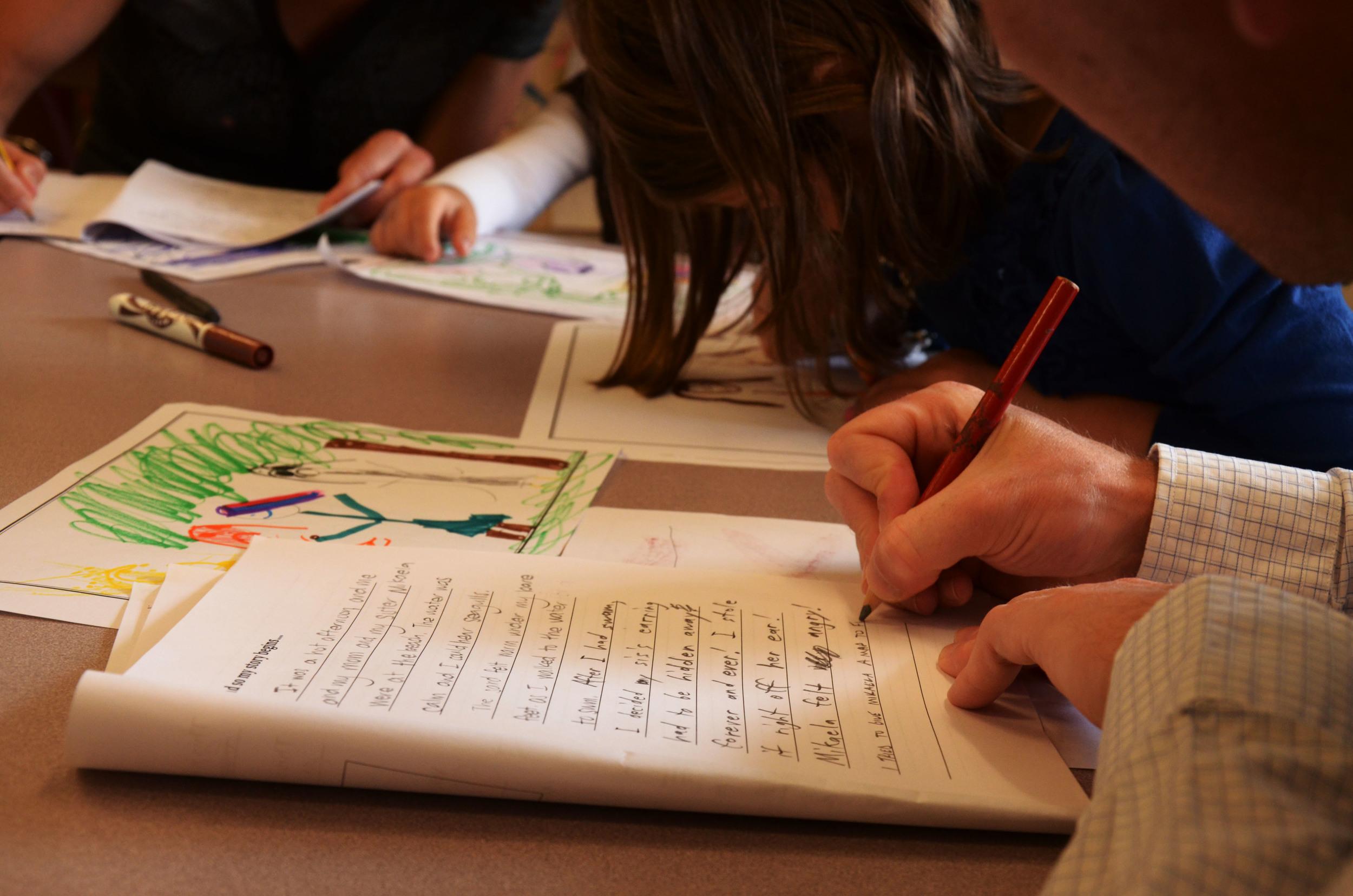 Brian Friesen Writing a kids story FriesenPress with Story Studio.JPG