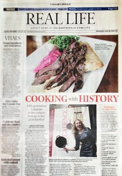 Featured in Calgary Herald
