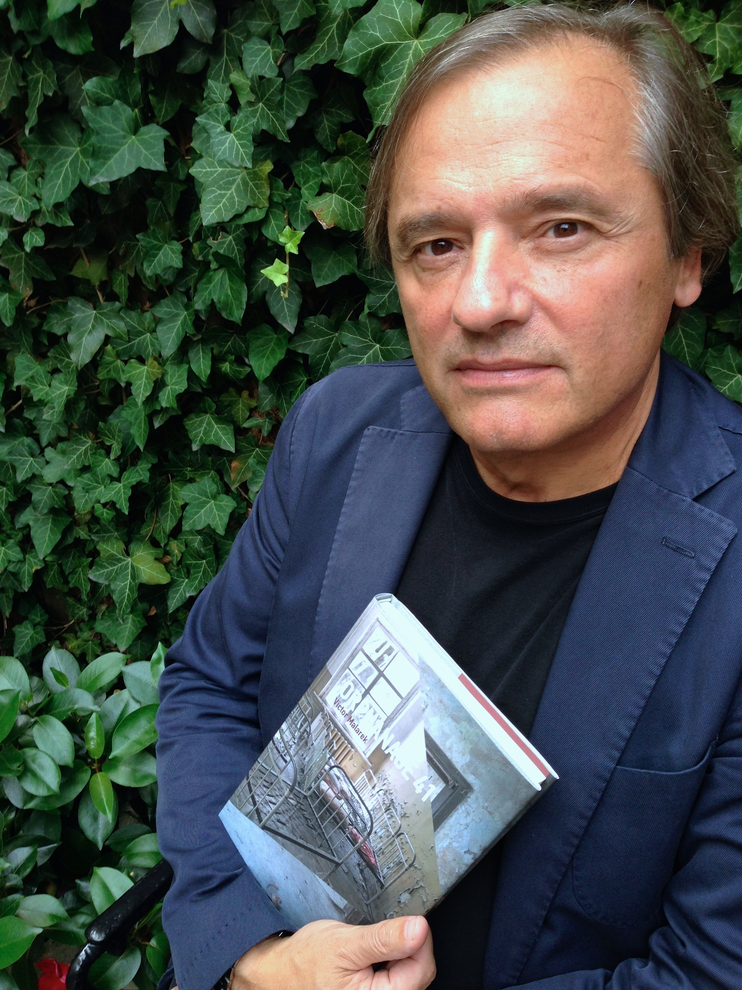 Victor Malarek with his new book  Orphanage 41