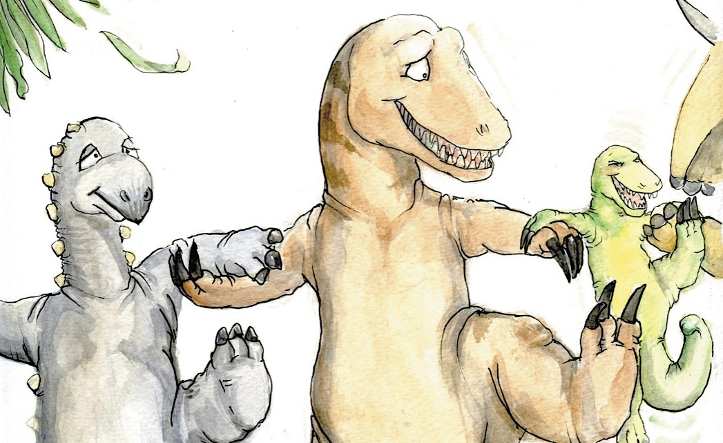 How Dinosaurs Learned to Dance - An Interview with Children's Author Judy Cook