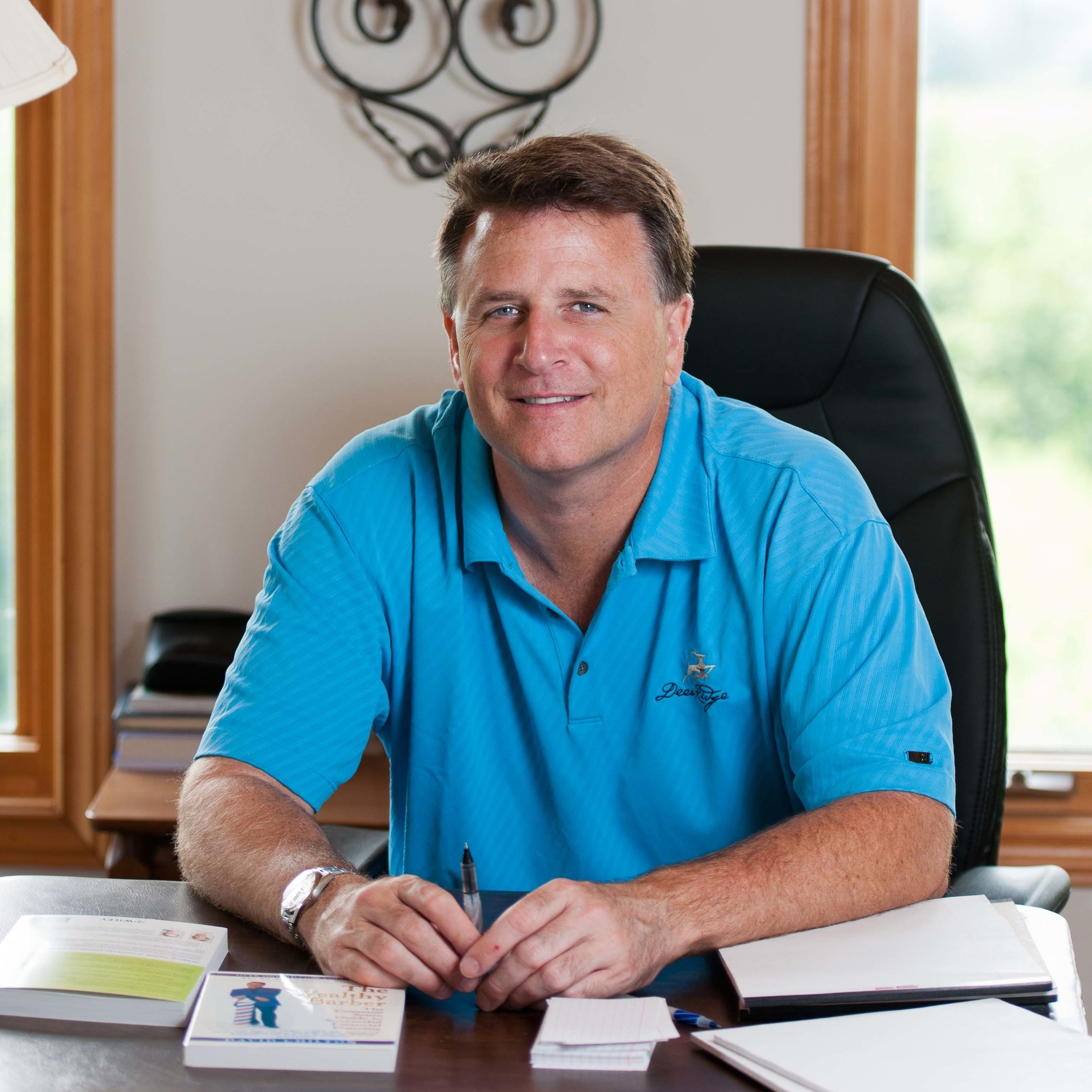 David Chilton, bestselling author of The Wealthy Barber, Dragons' Den cast member, and host of The Chilton Method