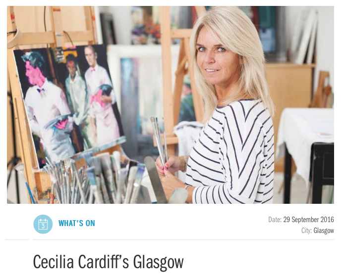 Read Cecilias interview in Glasgows I-on Magazine interview