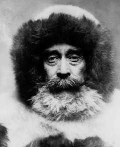 Robert Peary  the first man to reach the North Pole.