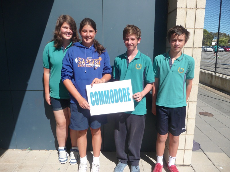 Commodore House Captains and Vice Captains