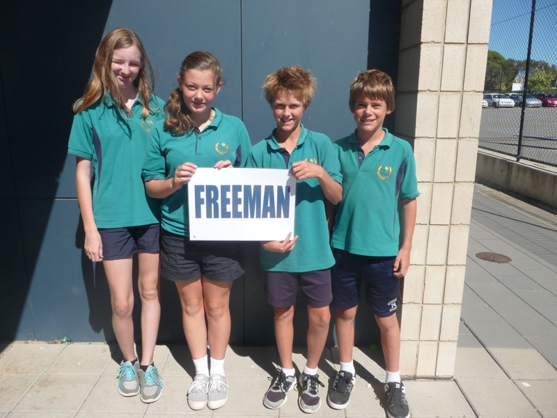 Freeman House Captains and Vice Captains