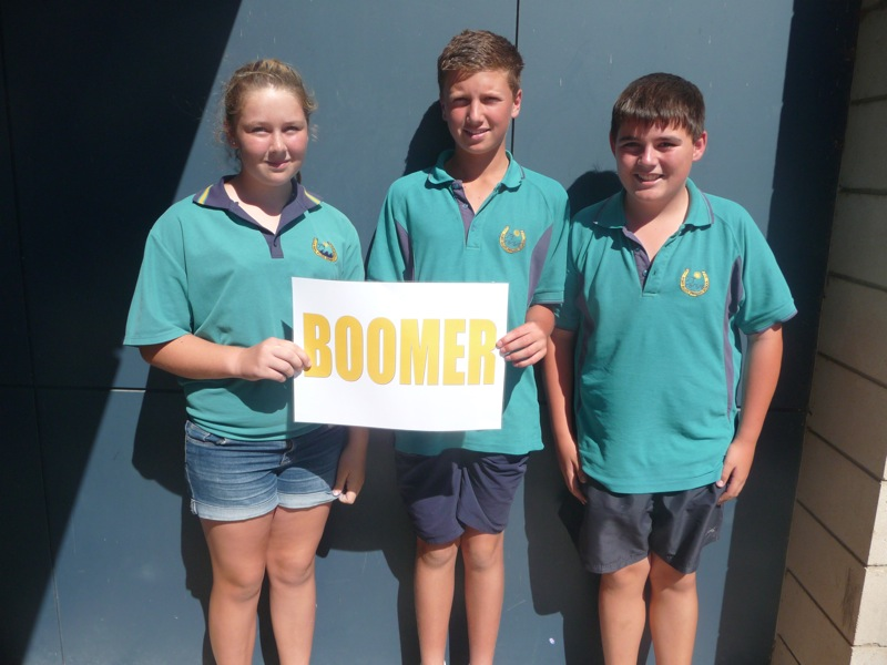 Boomer House Captains and Vice Captains  (Absent Taylah)