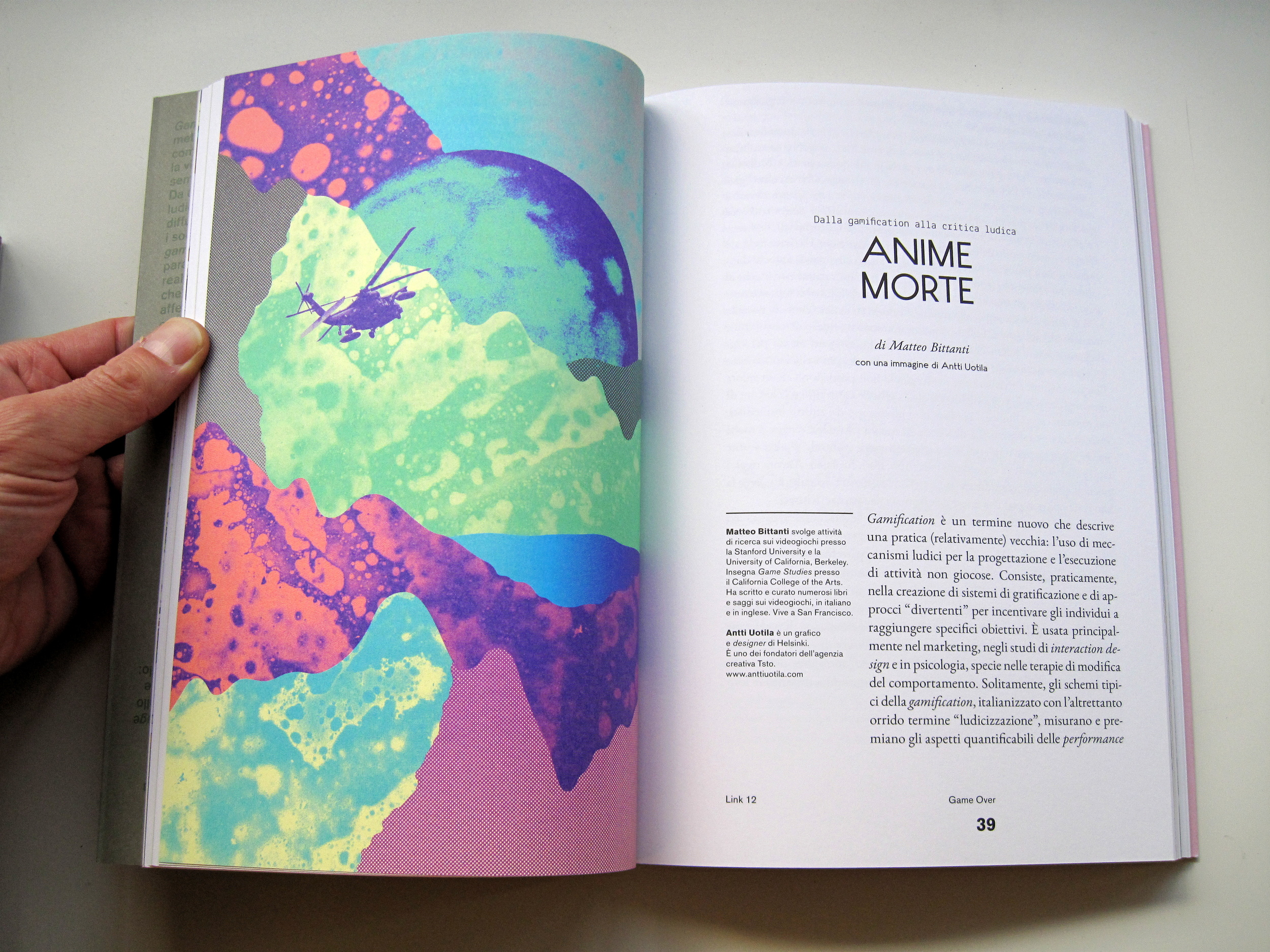 DIsciples is discussed in Anime Morte (Dead Soul) an essay published on Italian journal,   LINK #12,   published in November of 2012.