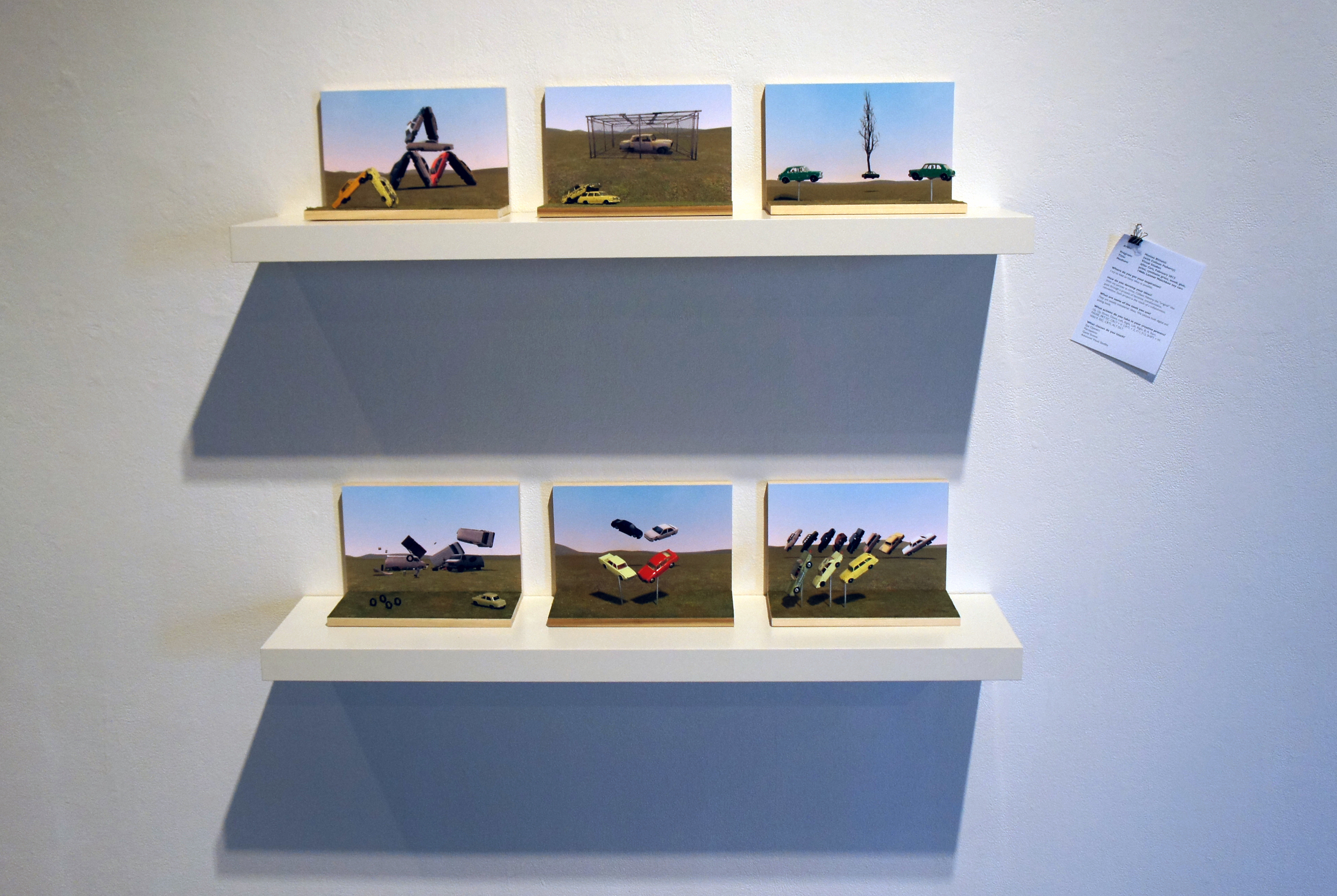Coll.eo, AFTER CARS (2012) installation view