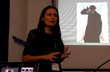 CHIARA PASSA talks about SAMO at the Art in Society Conference 2014 in Rome.