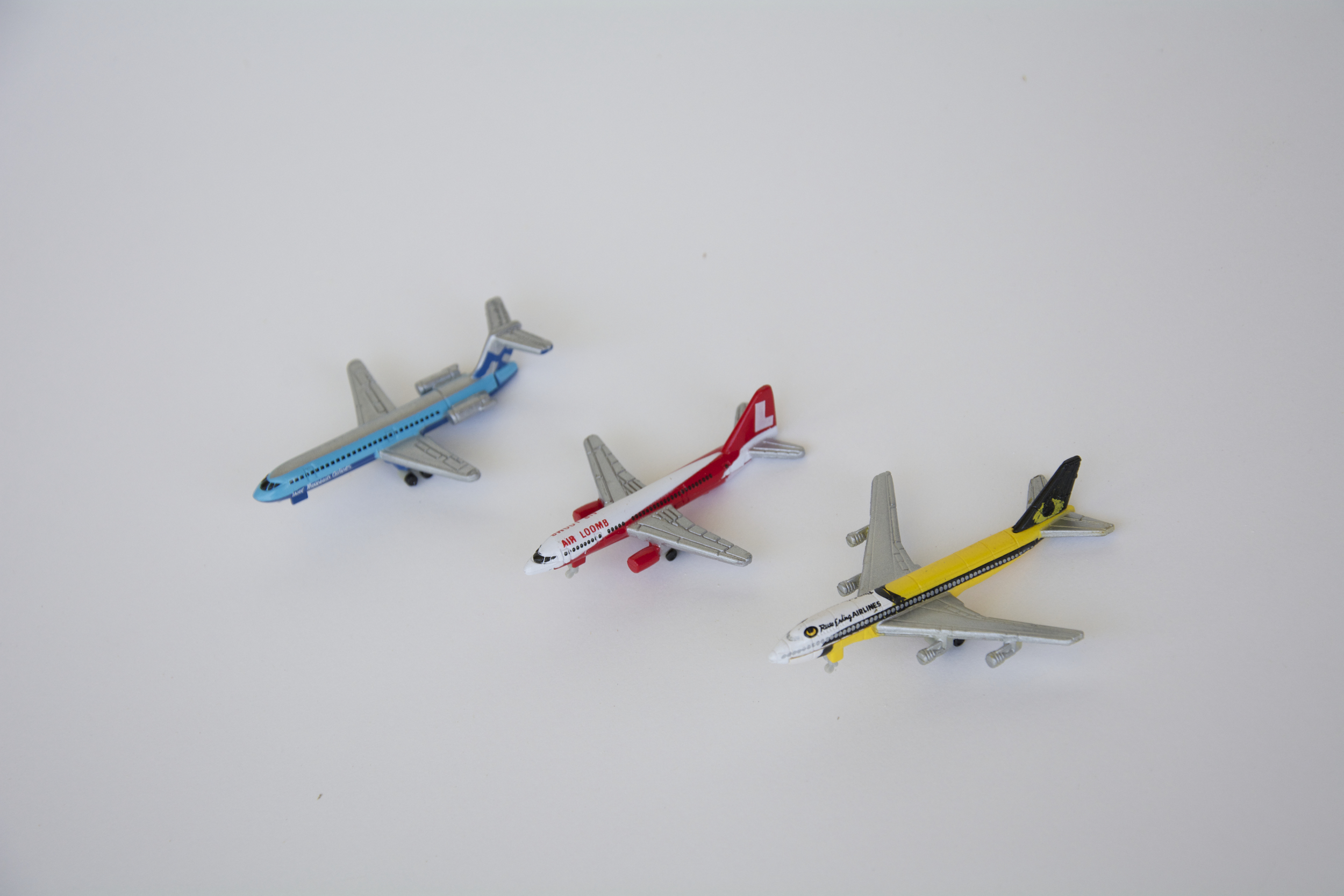 Some of he Micro Machines planes