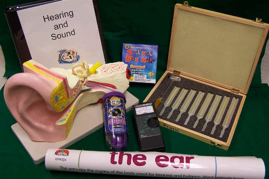 Hearing & Sound Kit contents