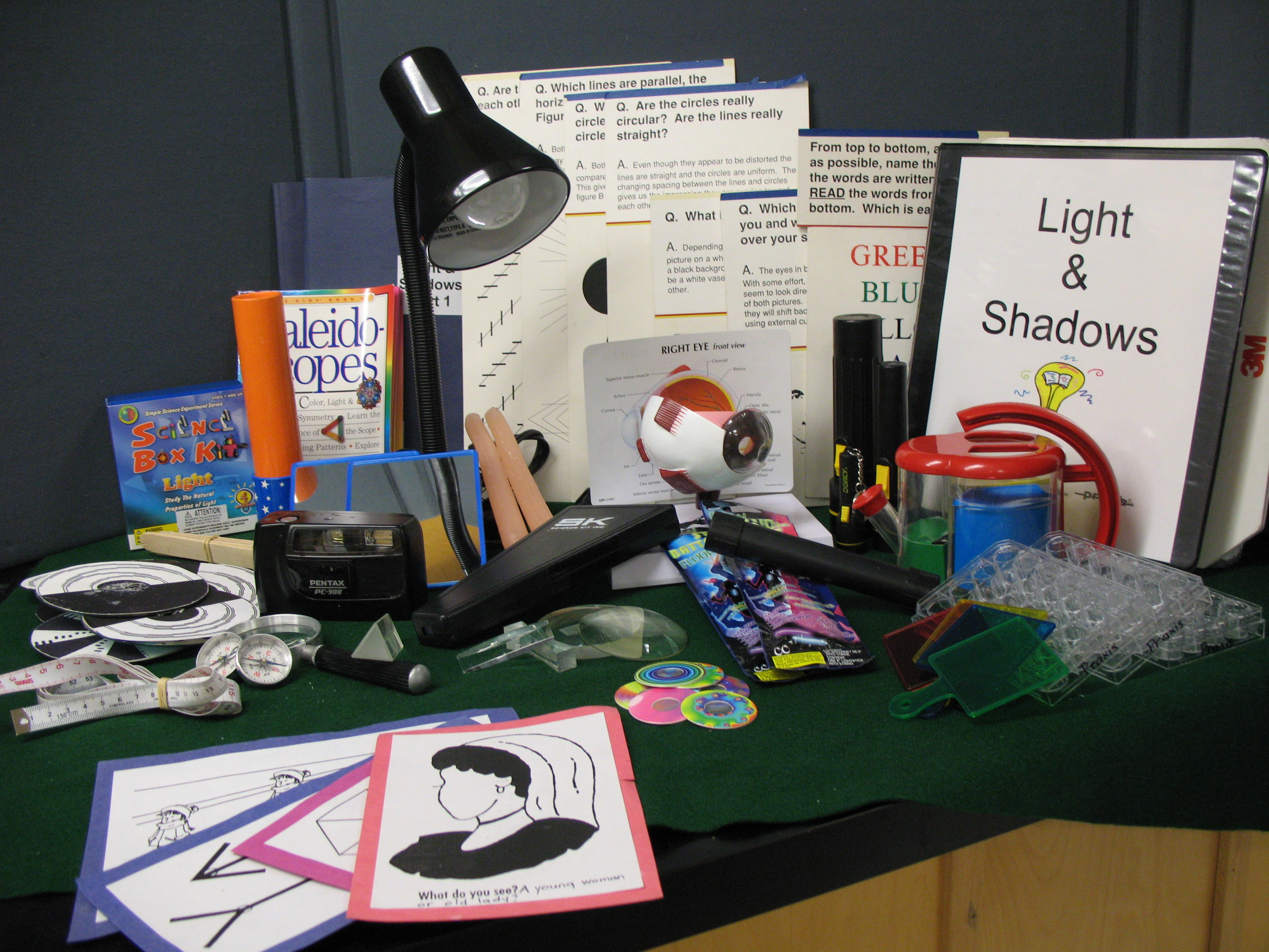 Light and Shadows kit contents