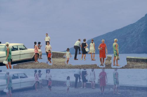 #16 Karni Dorrell  Lake stop  digital acrylic print (ready to hang) 12 x 8 in 2017