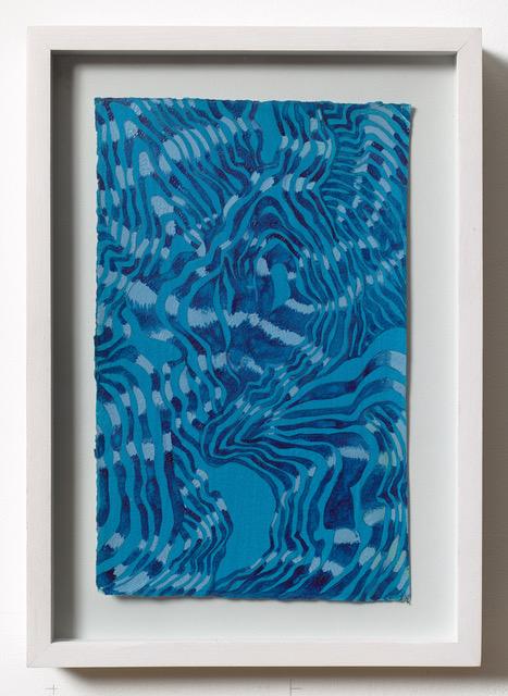 #28 Mara Held  Salve 14  13 x 9 1/4 in framed egg tempera on paper 2013