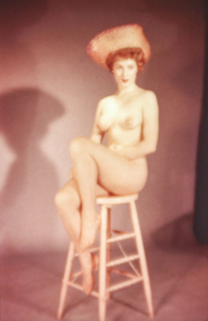 Woman on Stool