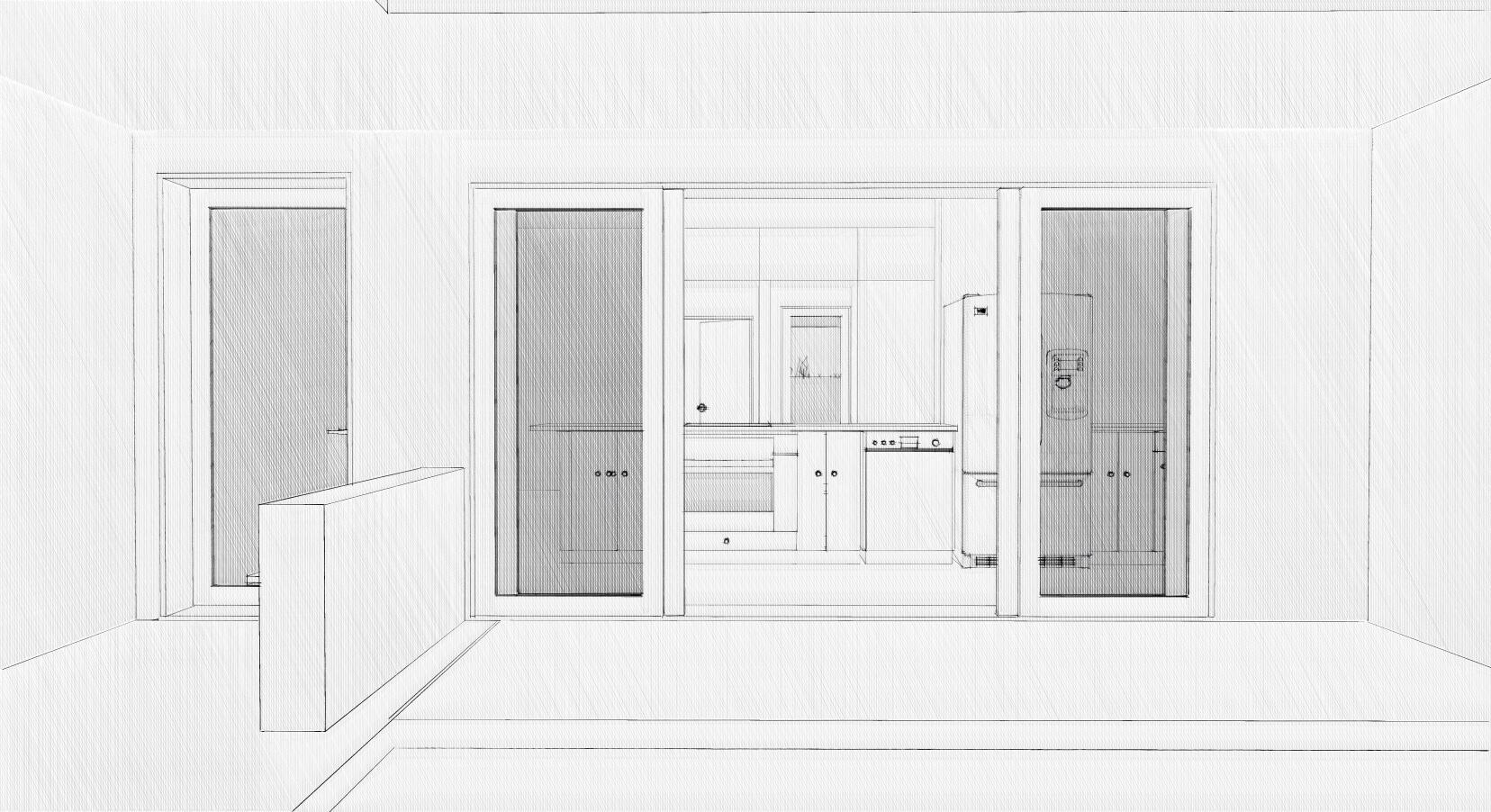 Courtyard and Front Door