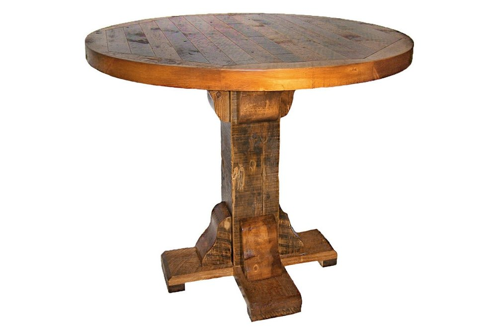 Pub Tables Reclaimed Rustic Woodworks