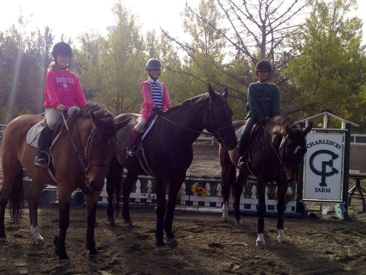 Melina, Skylar and Asha