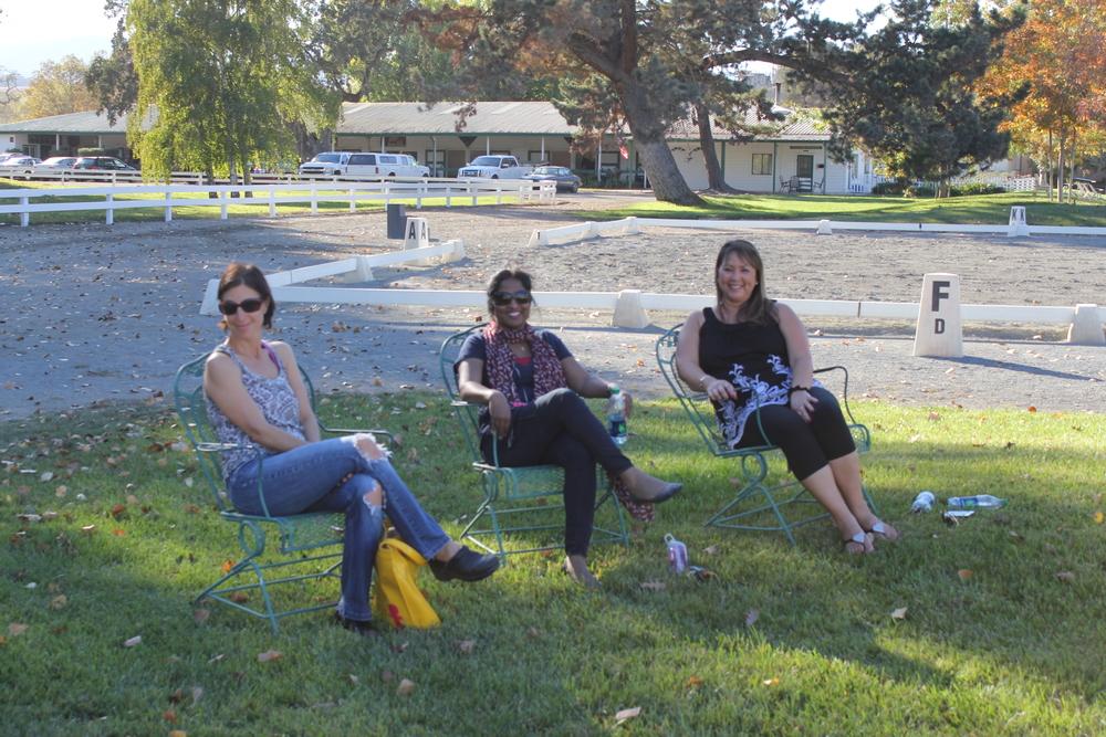Carmen, Linda and Kathy