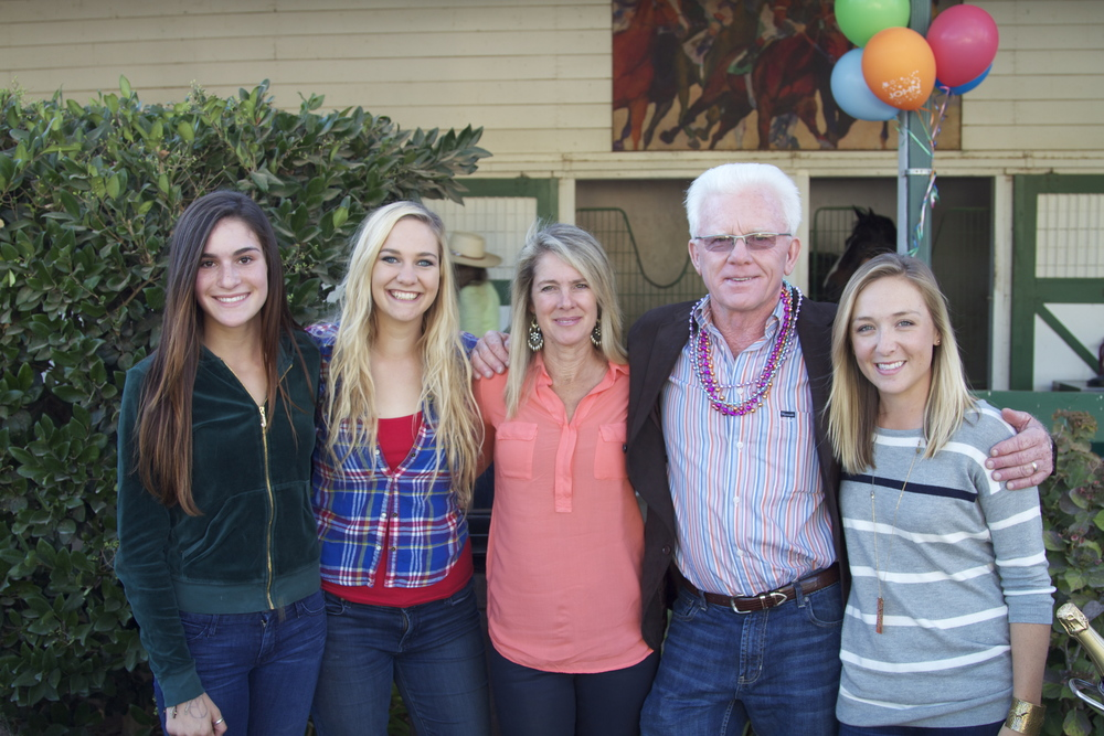 Rebecca, Danny, Denise, John and Haley