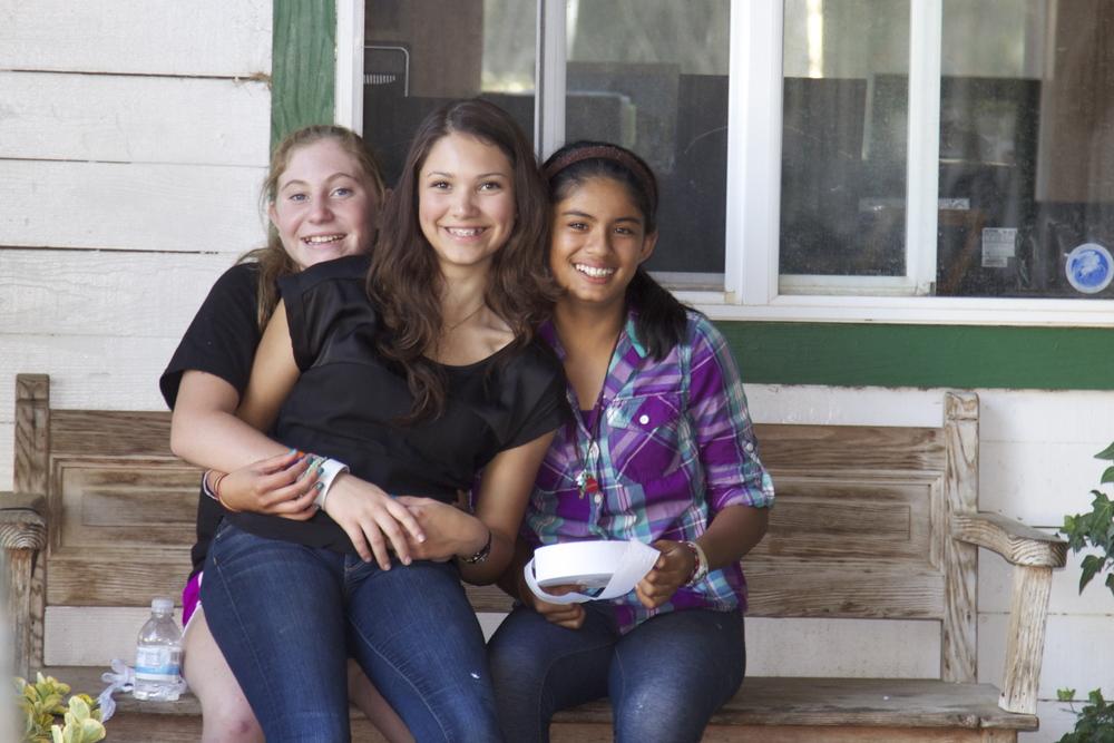Talia, Haley and Asha