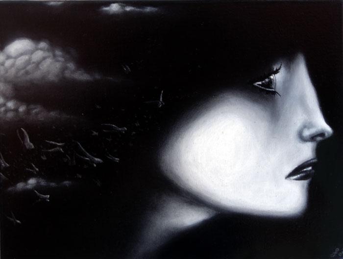 so soon, so long, oil on canvas, 12x16
